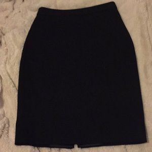 T Tahari Black Pencil Skirt